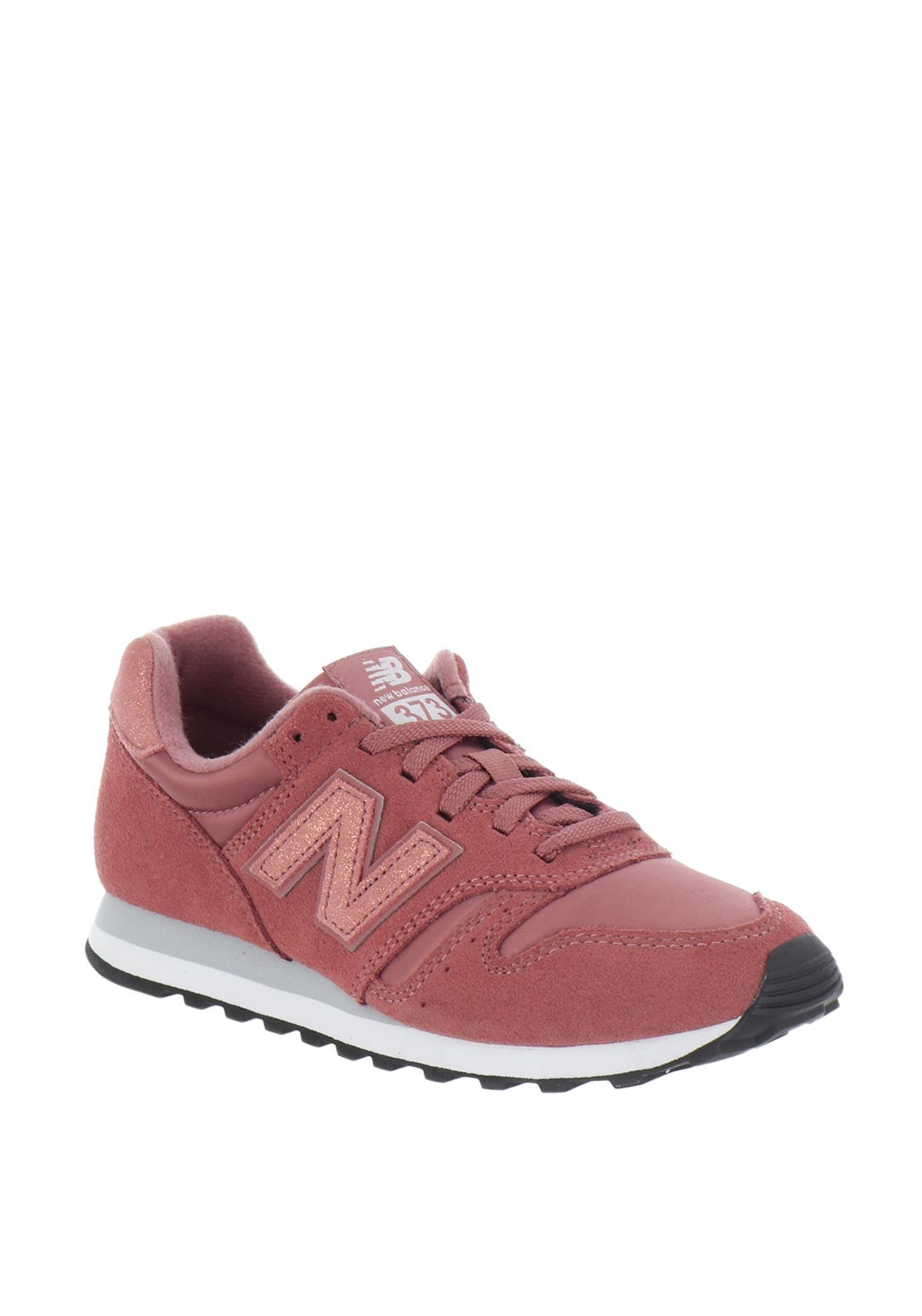 new style 1075a 15279 New Balance Womens 373 Suede Mix Trainers, Pink. Be the first to review  this product