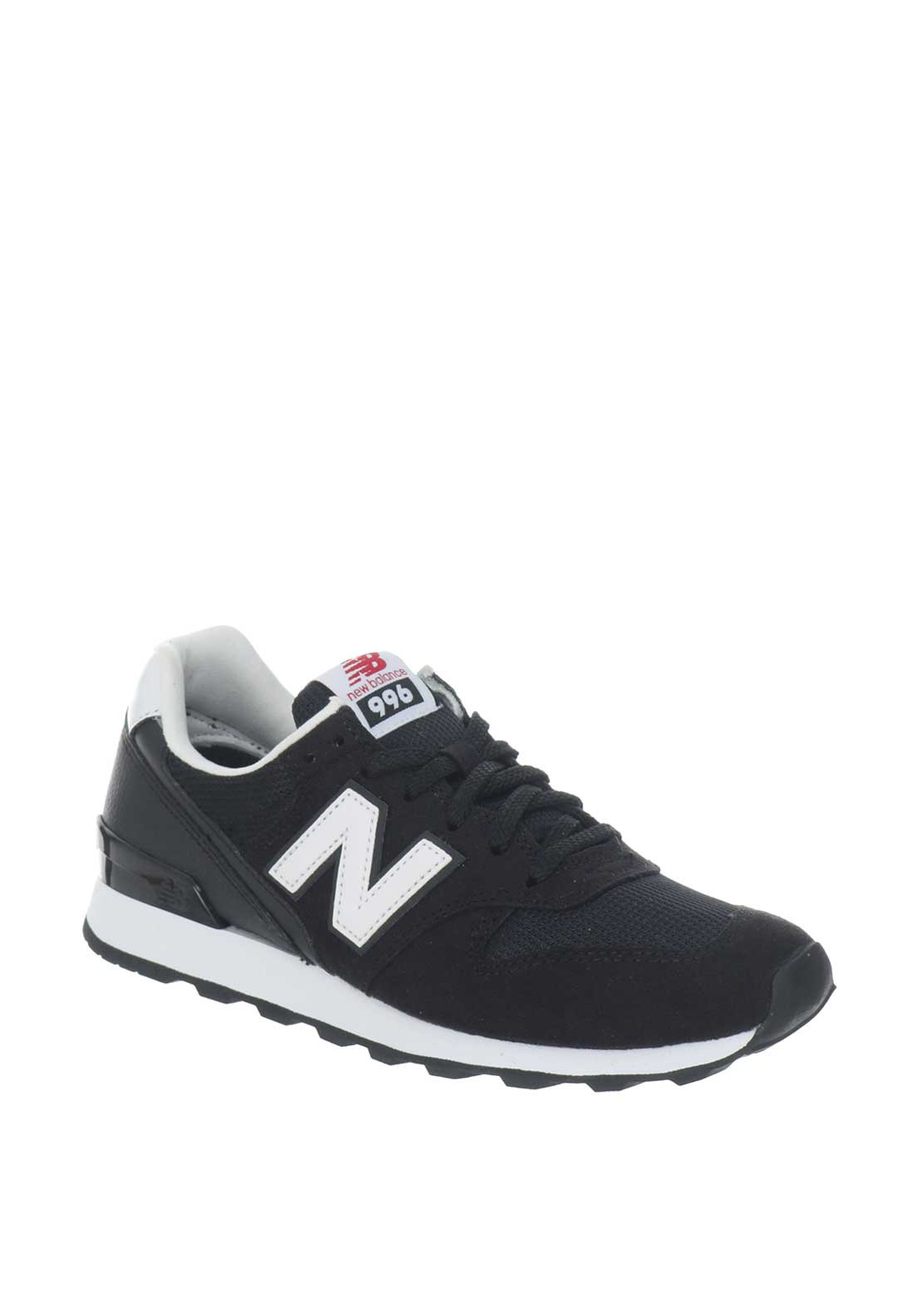 New Balance Womens Suede 996 Runners, Black