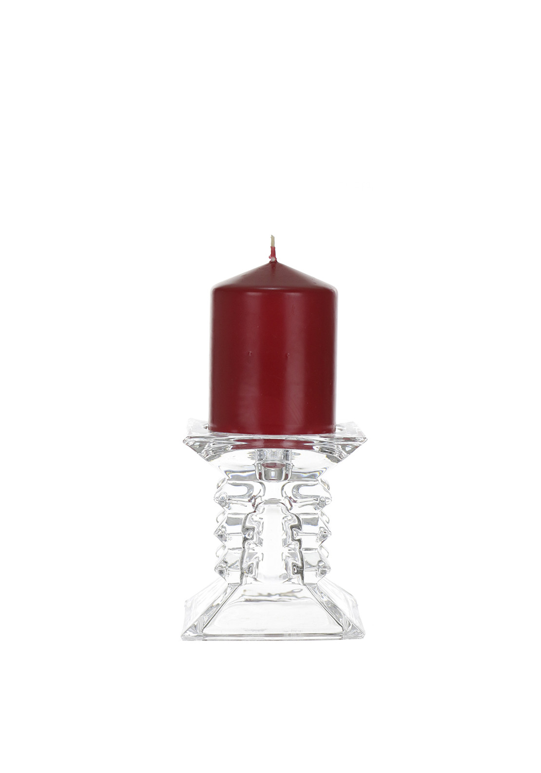 Red Pillar Candle Holders - Home Ideas