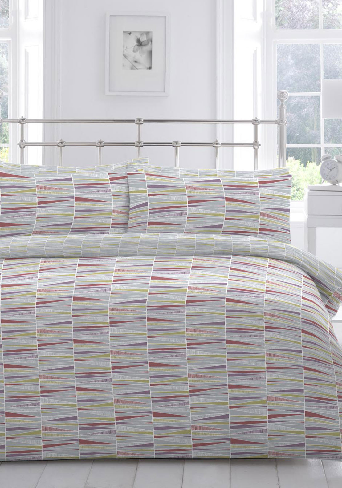 Nineteen11 Moriko Duvet Cover Set, Multi-Coloured
