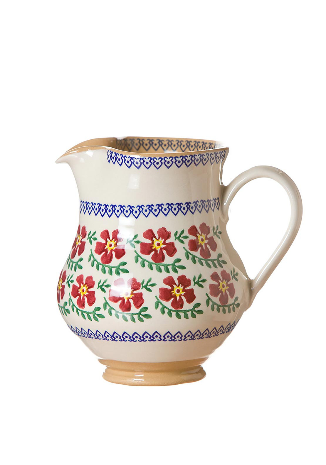 Nicholas Mosse Pottery Old Rose Jug, Medium