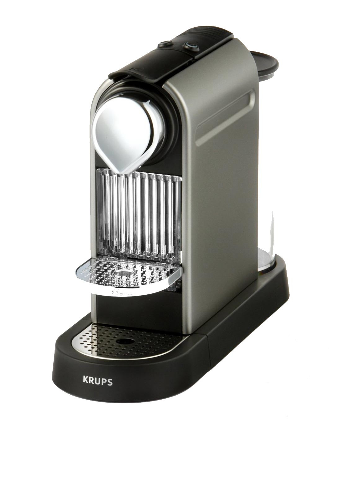 Nespresso Citiz Krups Coffee Machine, Titanium