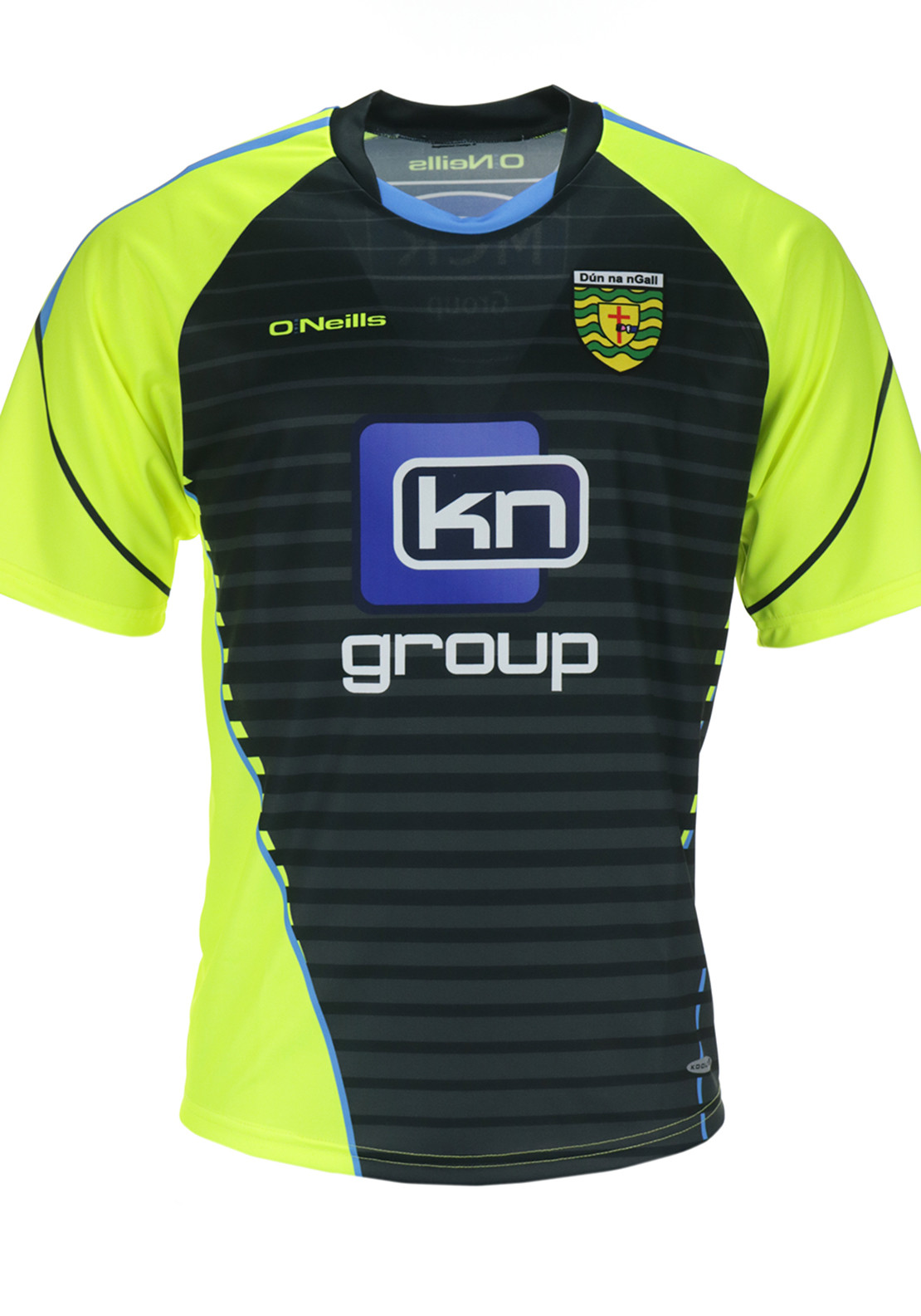 O'Neills Donegal GAA Training Jersey, Yellow and Grey