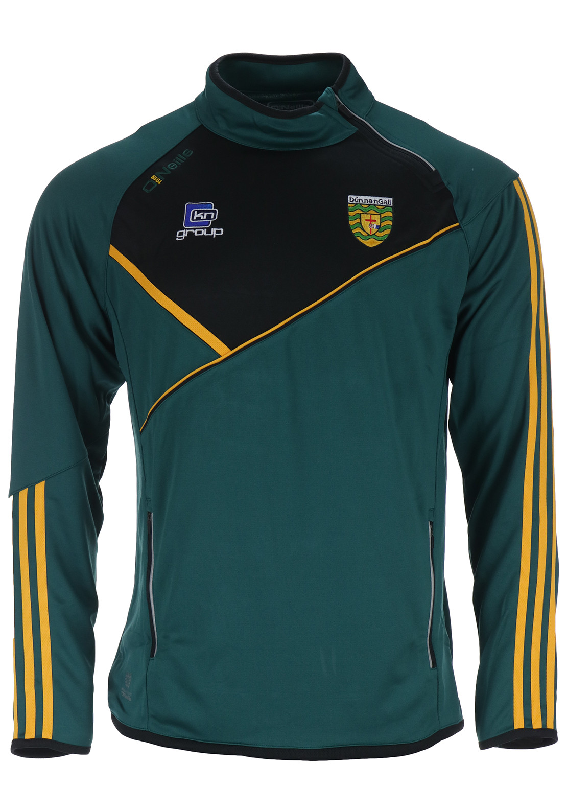 O'Neills Adults Conall Side Zip Squad Top, Green