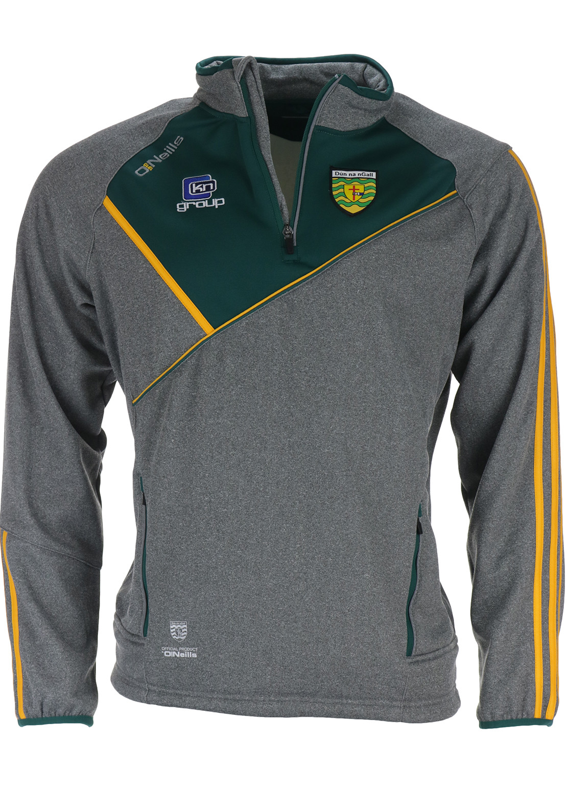 O'Neills Adults Conall Half Zip Training Top, Grey
