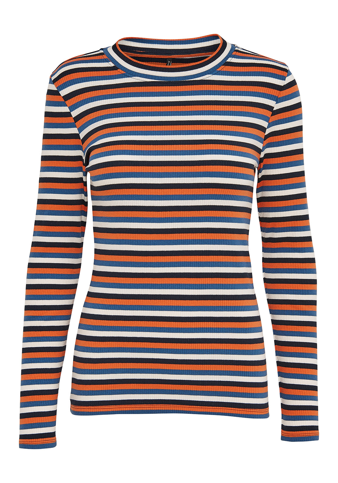 Only Lilly Striped Knit Top, Multi-Colored