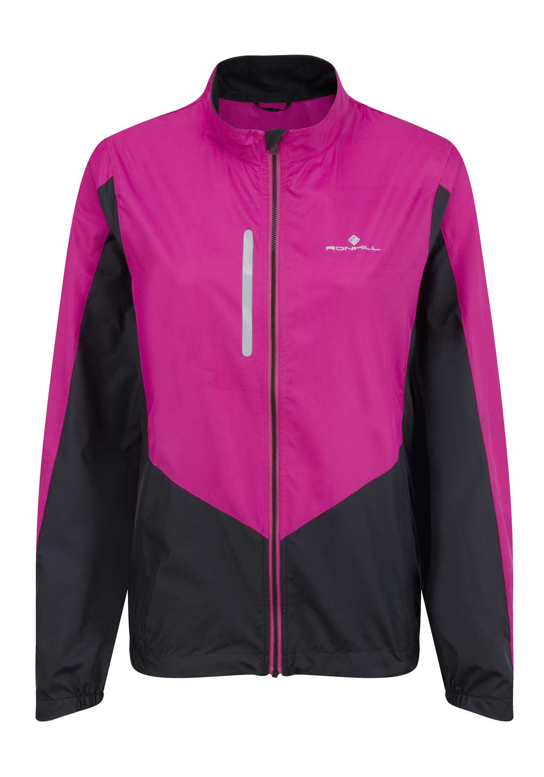 Ronhill Womens Aspiration Windlite Jacket, Magenta and Black