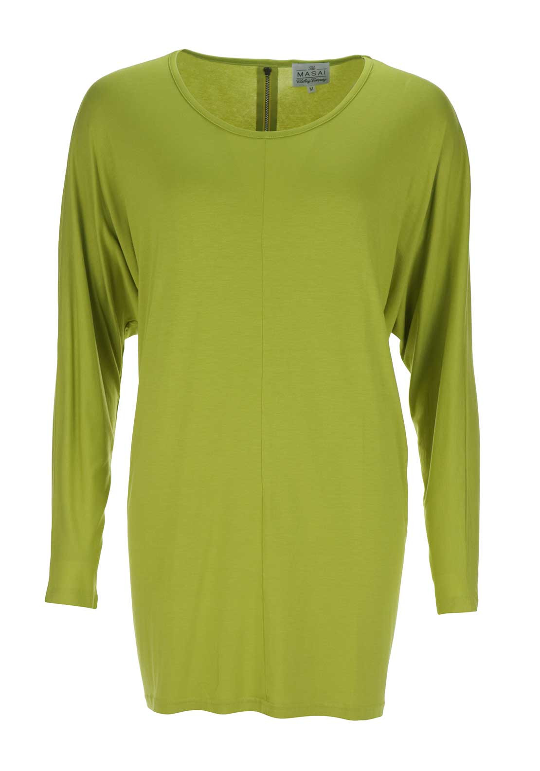 The Masai Clothing Company Dox Oversize Tunic Top, Lime Green