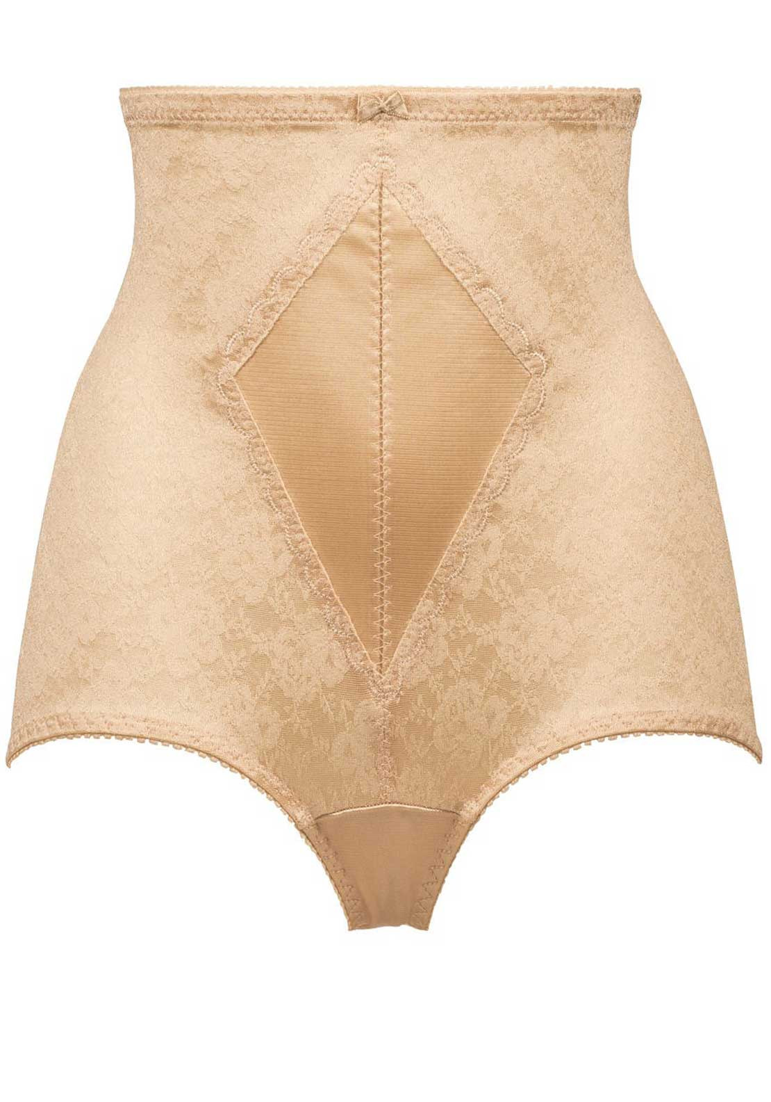 Naturana Firm Control High Waist Girdle Brief, Nude