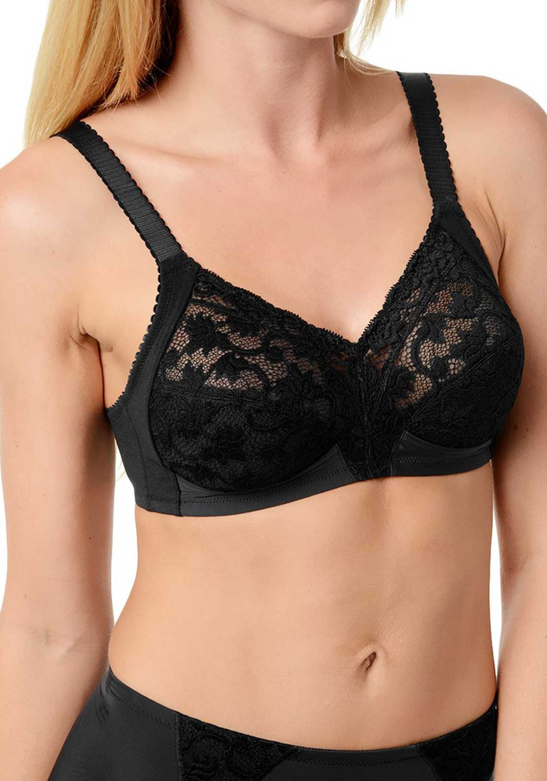 Triumph Doreen Non Wired Full Cup Bra, Black