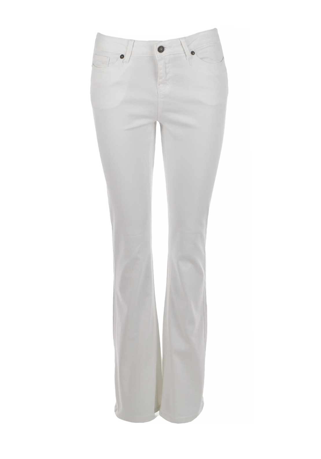 Vero Moda Sally Flare Jeans, Bright White