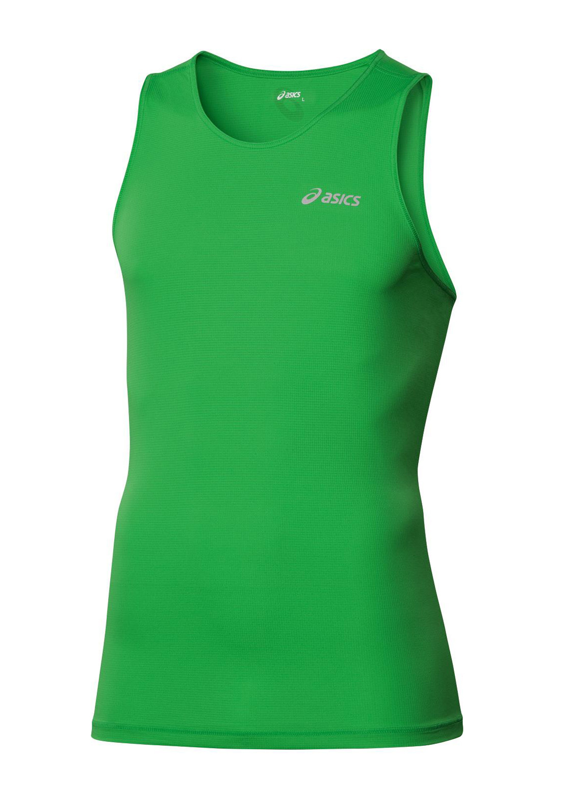 Asics Men's Singlet, Power Green