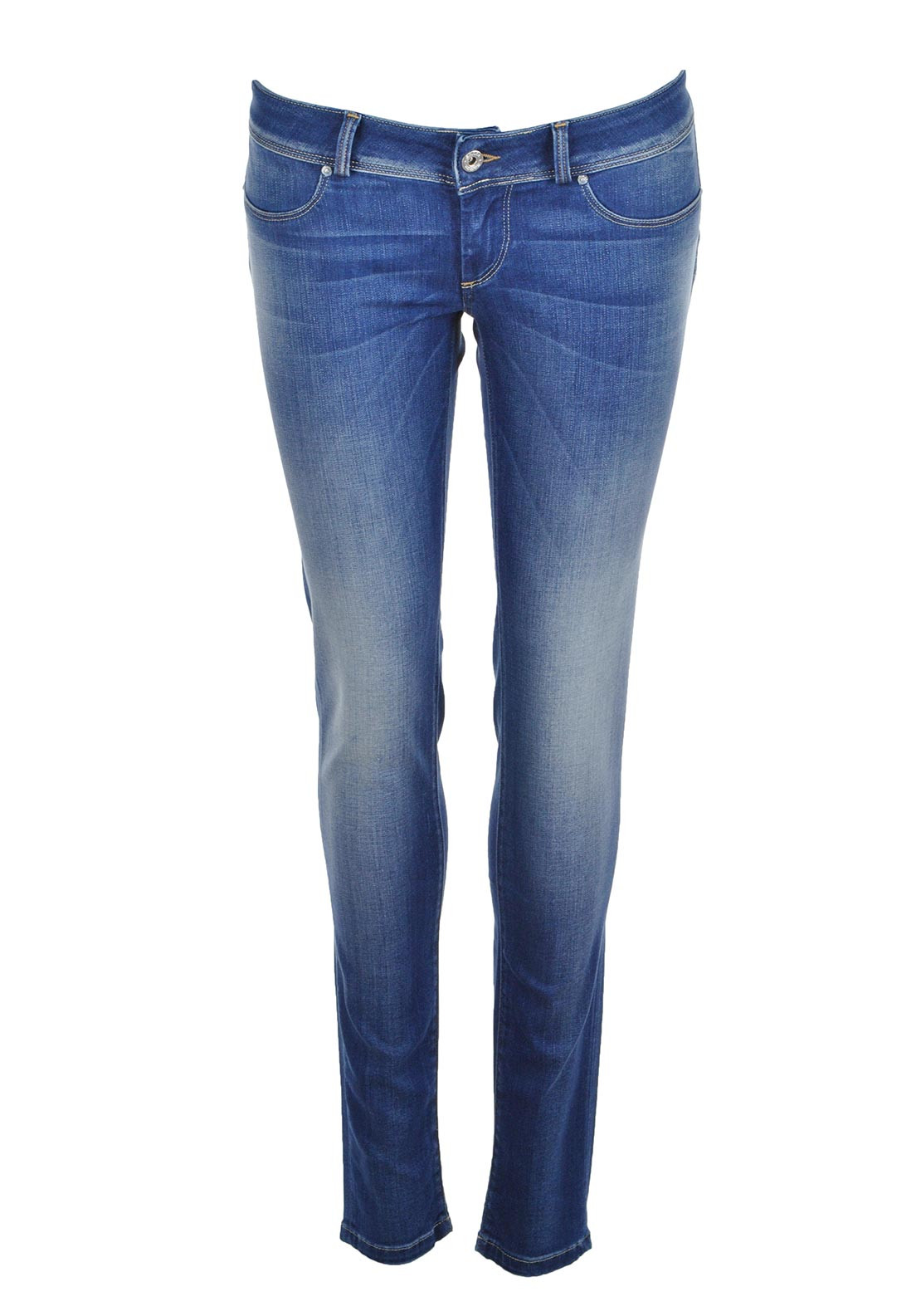 Salsa Wonder Soft Touch Push up Skinny Jeans, Blue Denim