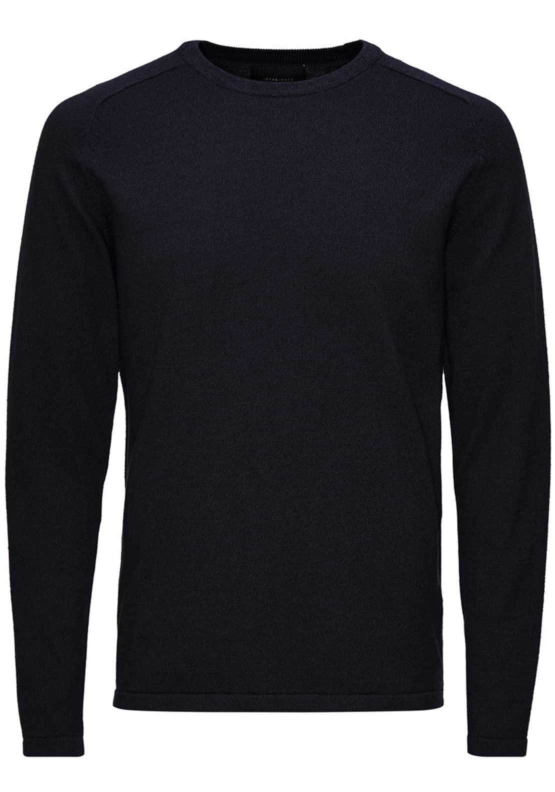 Jack & Jones Simple Fine Knit Cotton Jumper