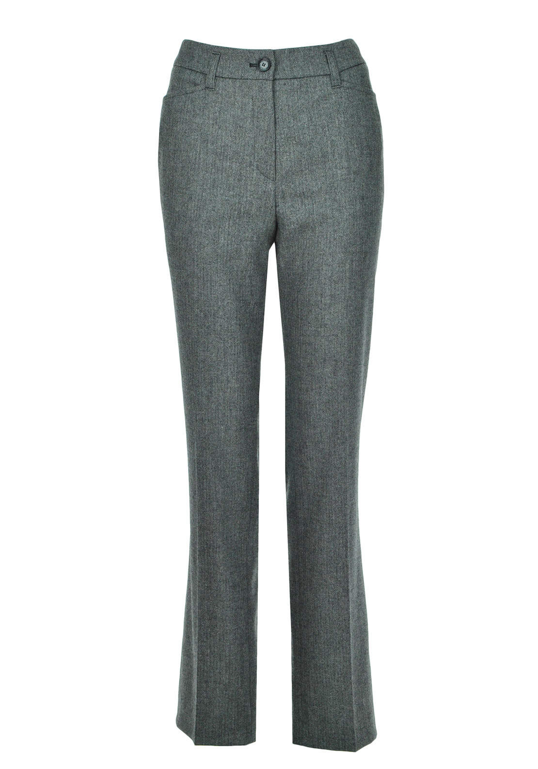 Gerry Weber Pamela Straight Leg Tweed Trousers, Grey