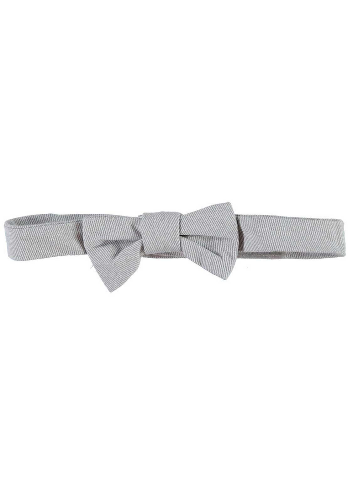 Name It Mini Boys Golister Twill Bow Tie, Safari Grey