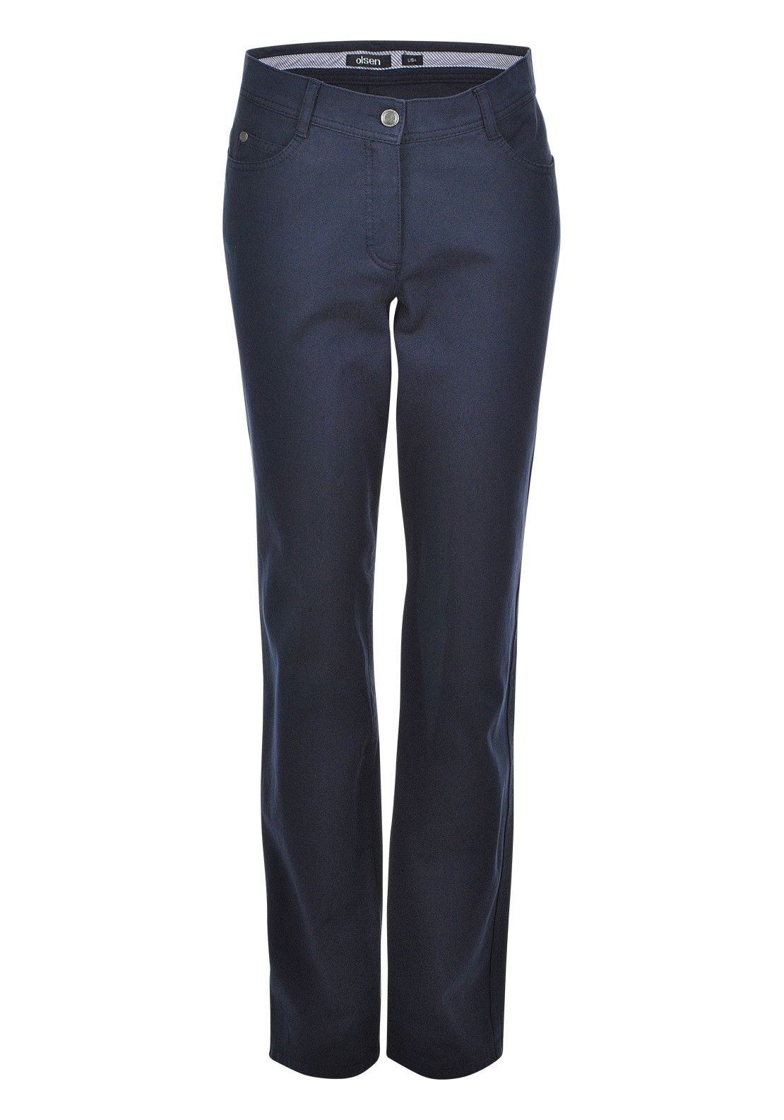 Olsen Lisa Straight Leg Jeans, Dark Denim