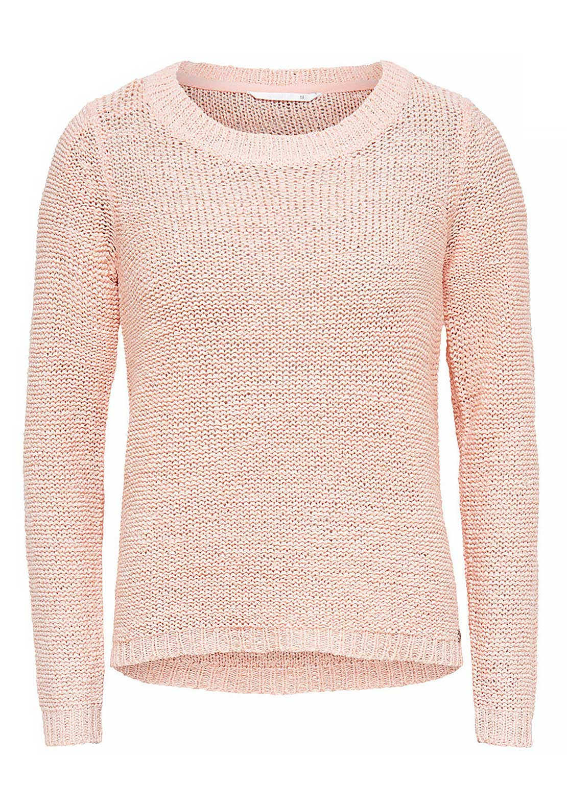 Only Geena Knitted Pullover Jumper, Peach Whip