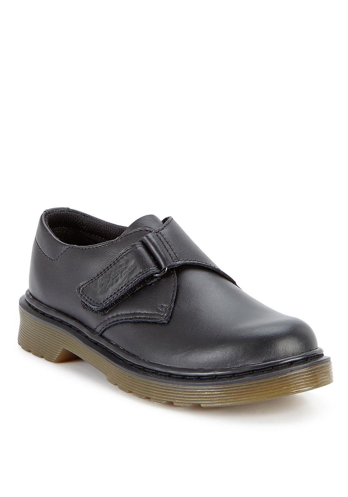 Dr.Martens Airwair Children's Jerry Leather Shoe, Black