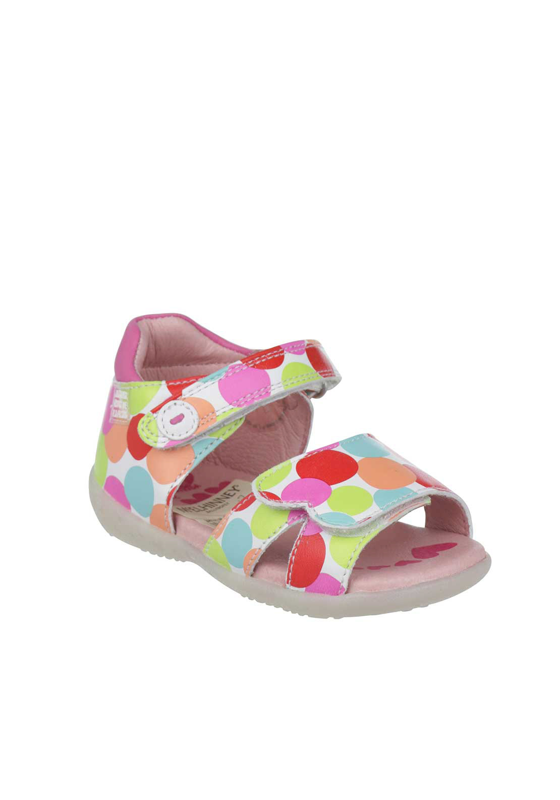 Agatha Ruiz De La Prada Girls Leather Sandal