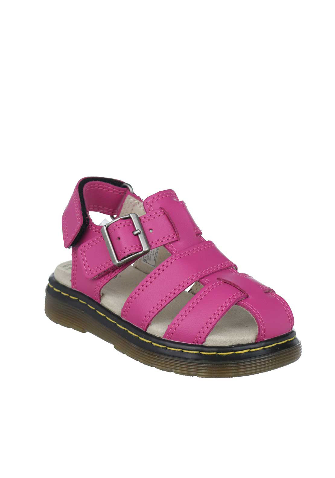Dr. Martens Baby Girls Moby Leather Sandals, Pink