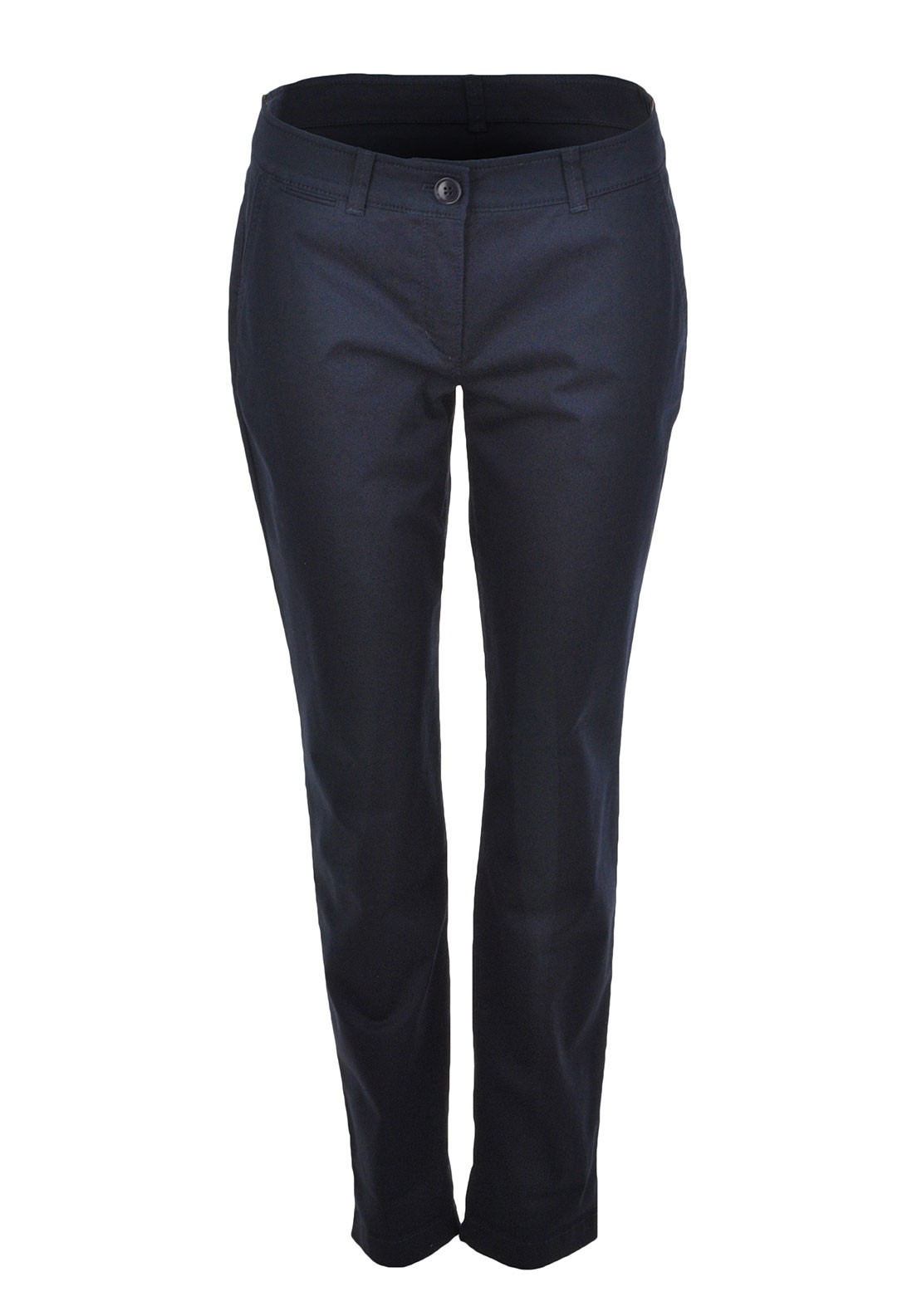 Gerry Weber Straight Leg Chino Trousers, Navy