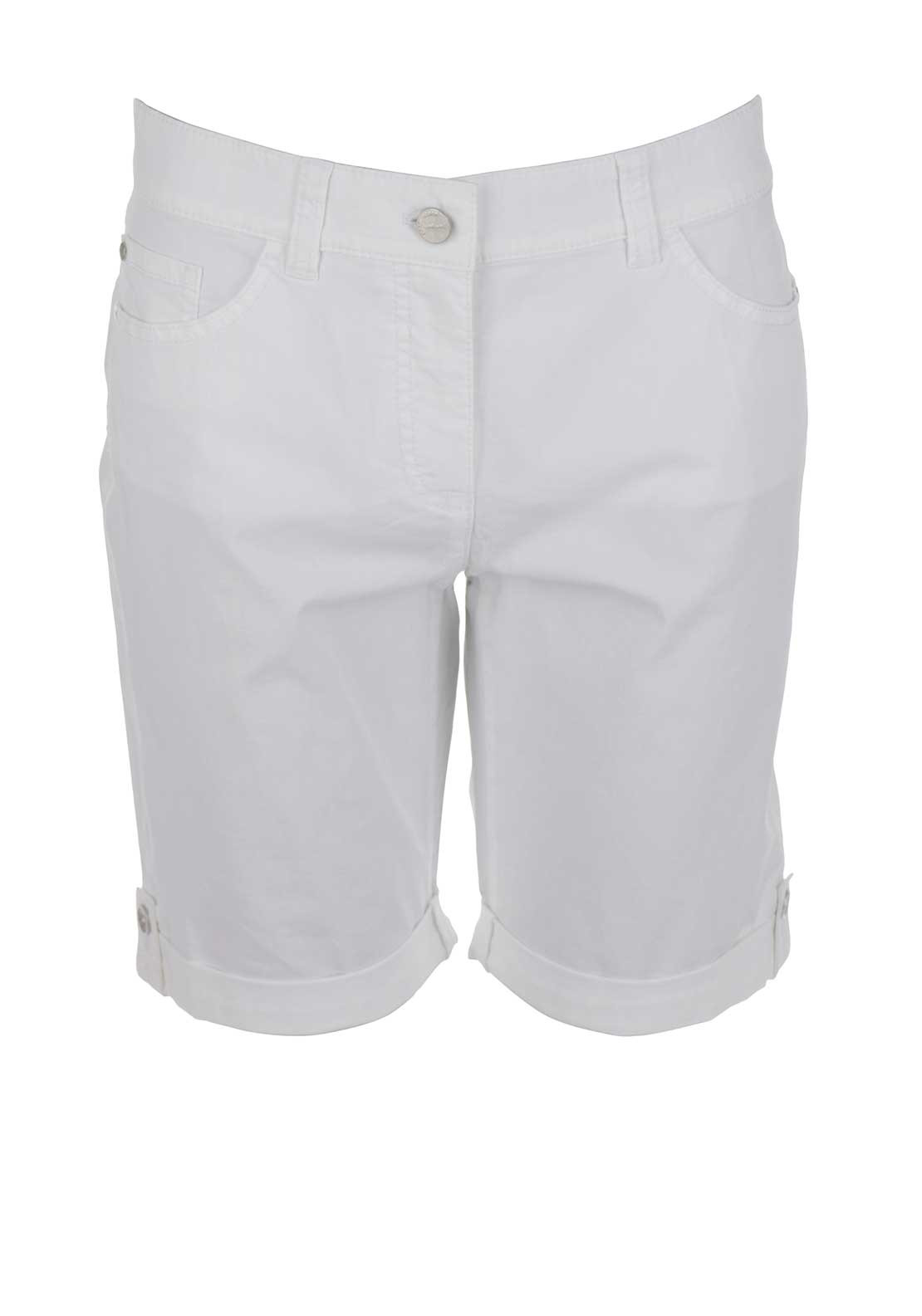 Gerry Weber Ronja Cotton Shorts, White