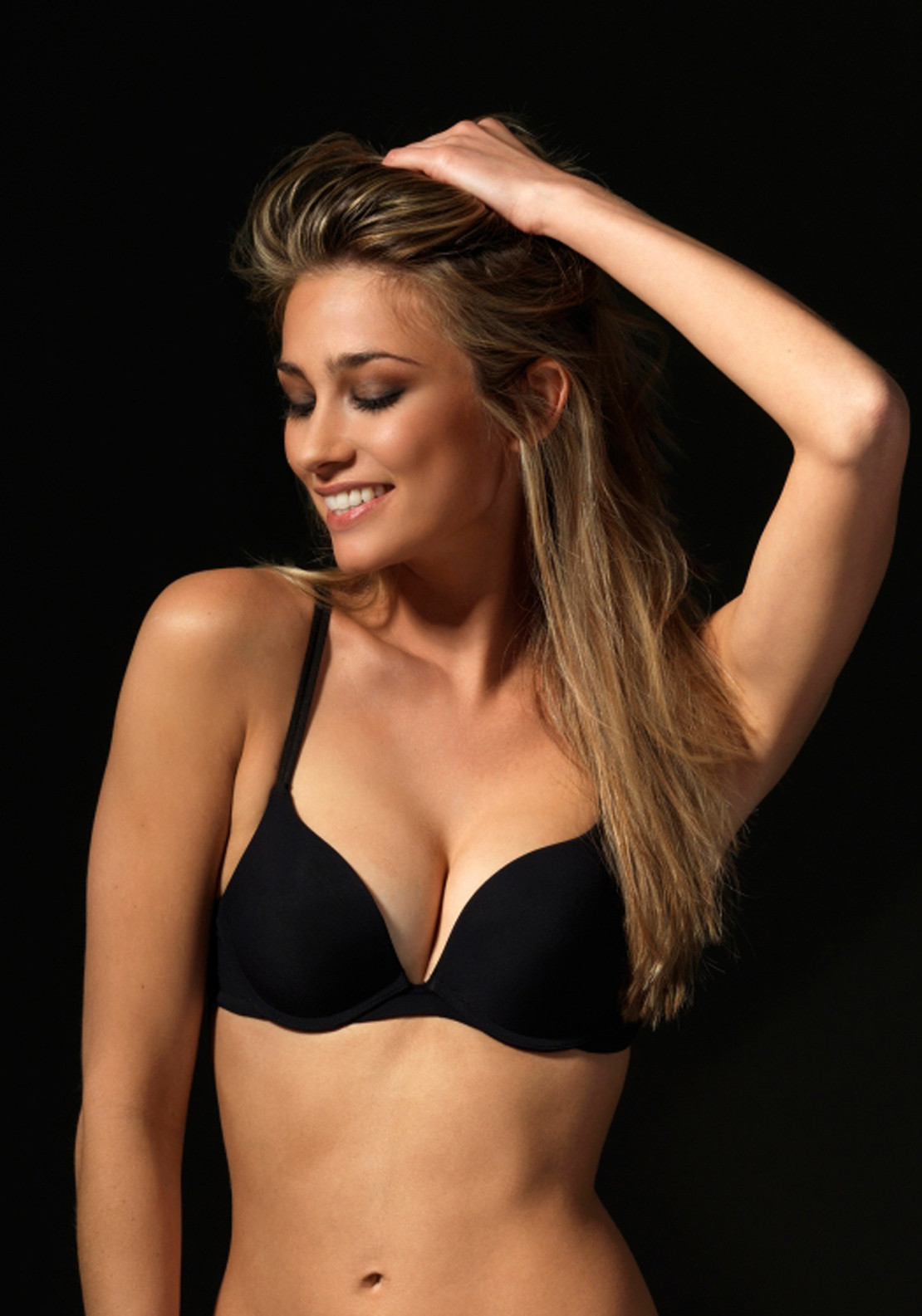 After Eden Single Boost Bra, Black