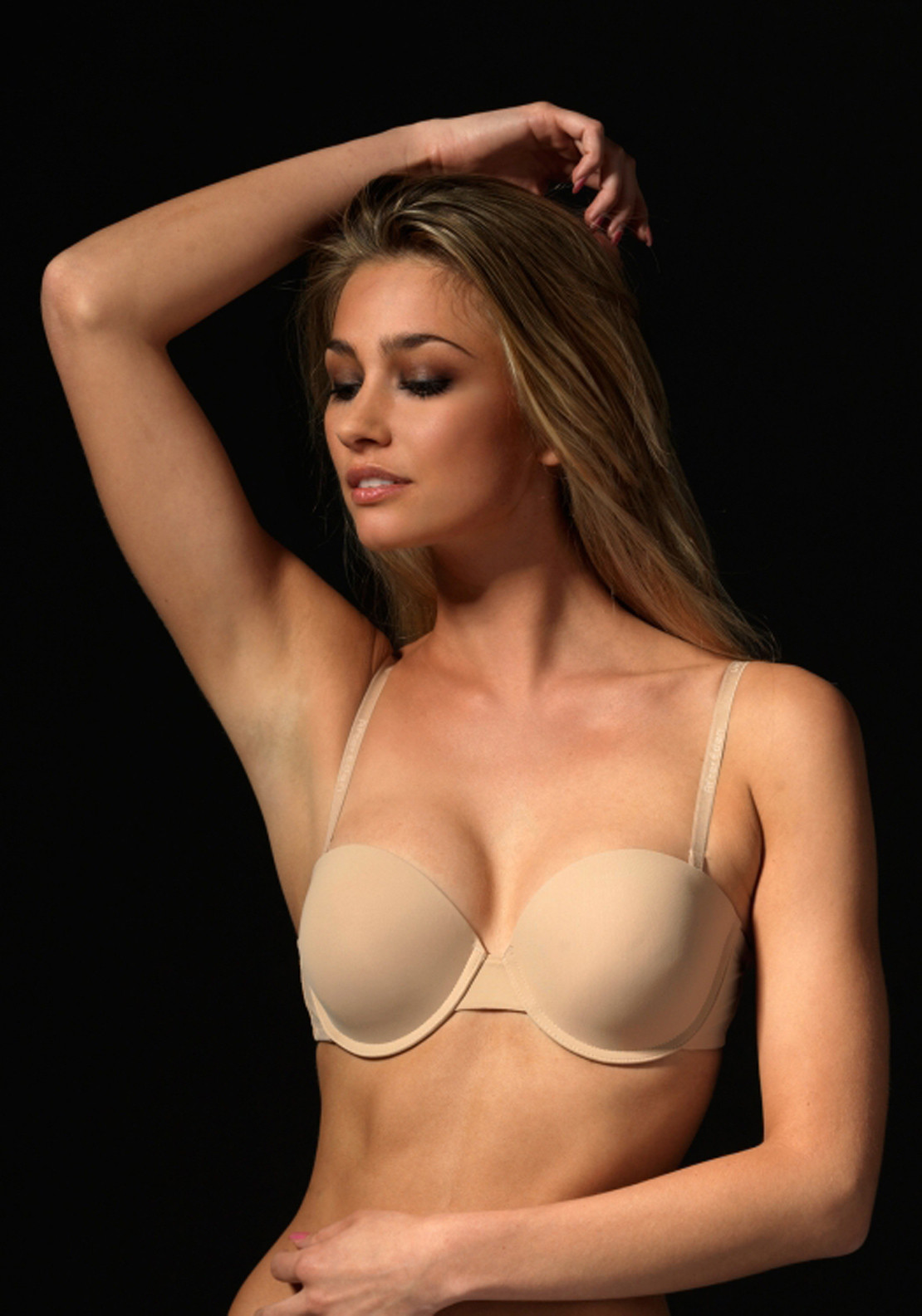 After Eden Double Boost Strapless Bra, Nude