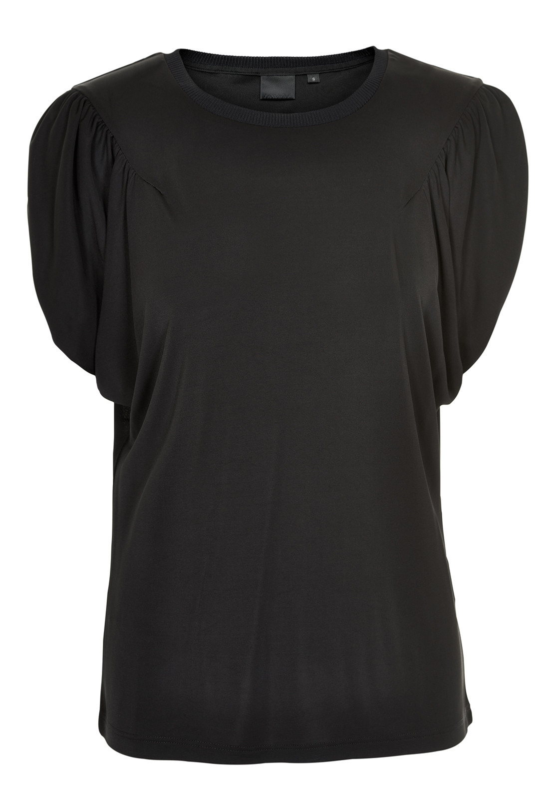 Inwear Tinie Lux Short Batwing Sleeve Jersey Top, Black