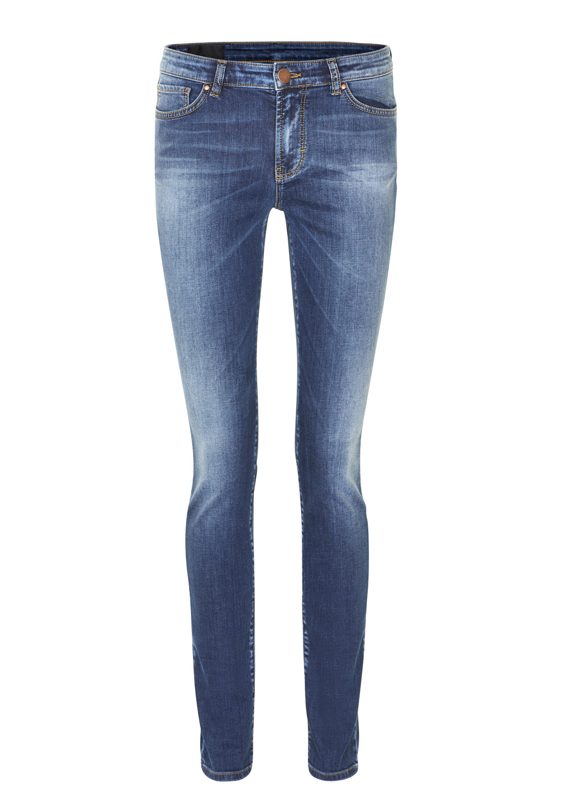 Inwear Slim Leg Jeans, Medium Blue Wash