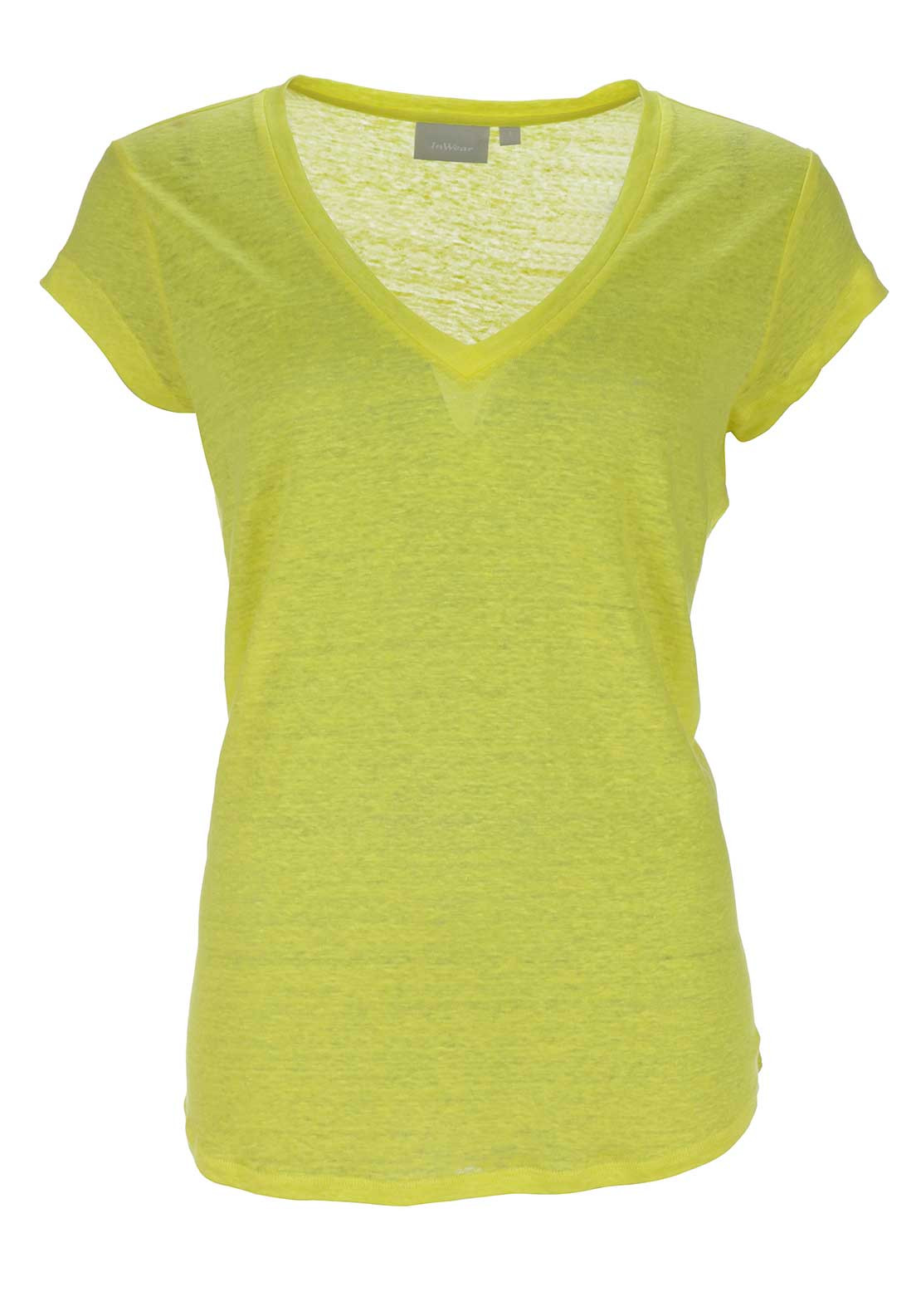 Inwear Caurals Short Sleeve T-Shirt, Yellow