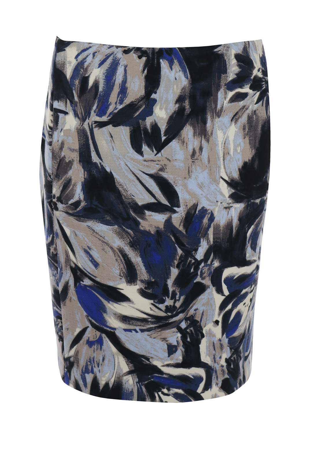 Inwear Floral Print Pencil Skirt, Multi-Coloured