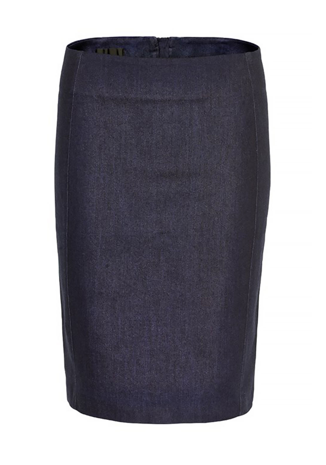 Inwear Canny Denim Midi Pencil Skirt, Blue