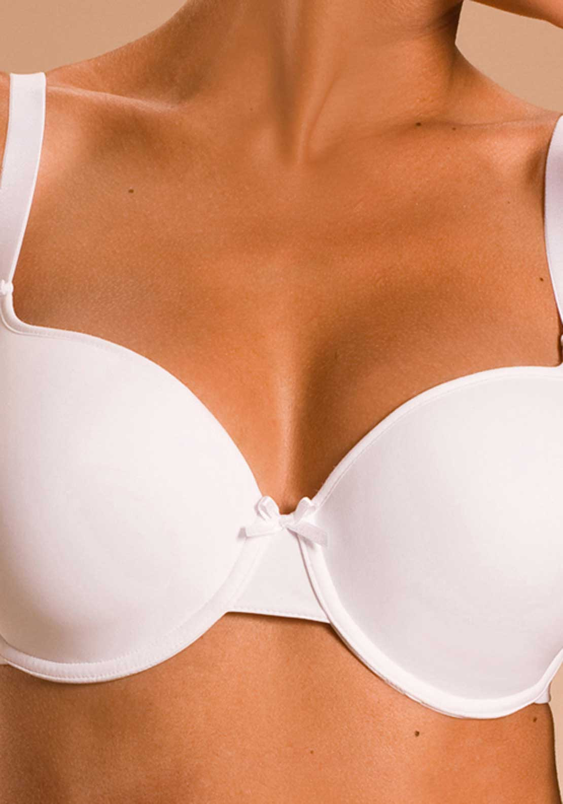 Chantelle Basic Invisible T-Shirt Bra, White