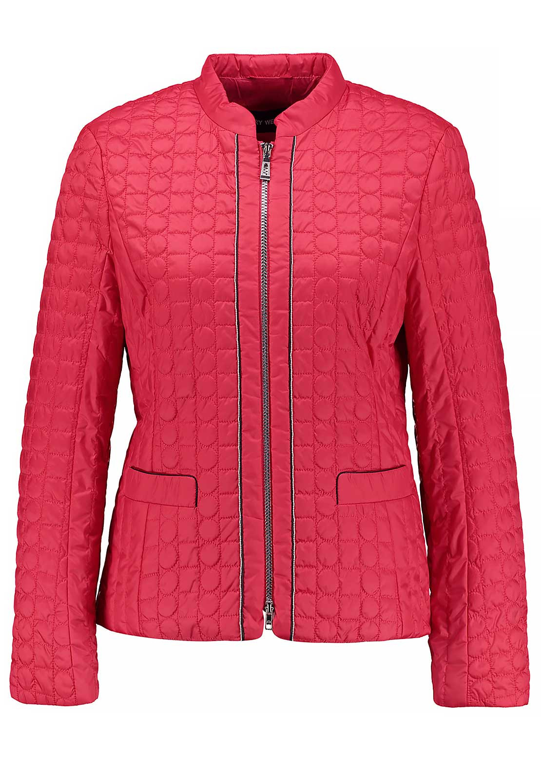 Gerry Weber Quilted Jacket, Red