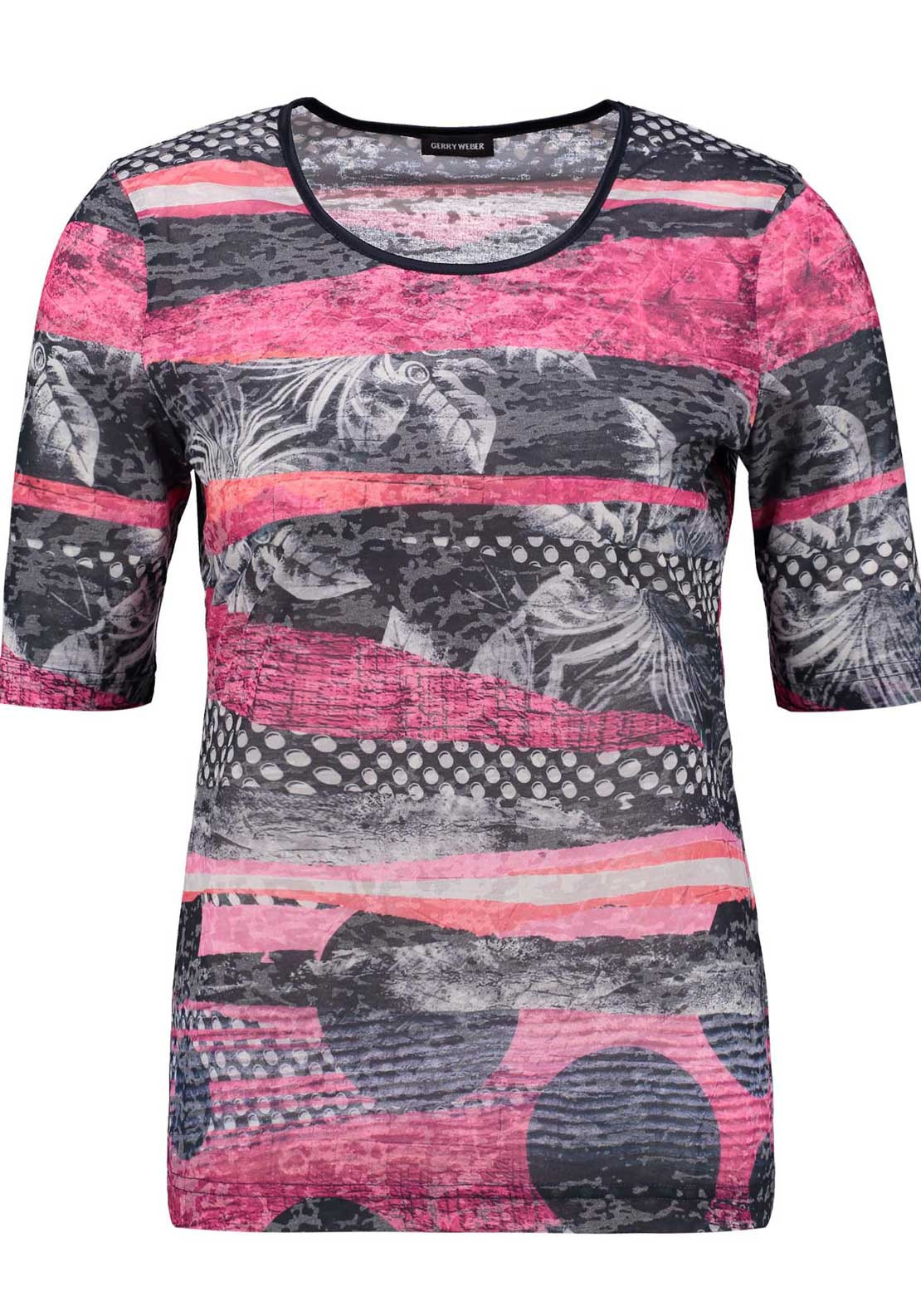 Gerry Weber Print Top, Multi Coloured