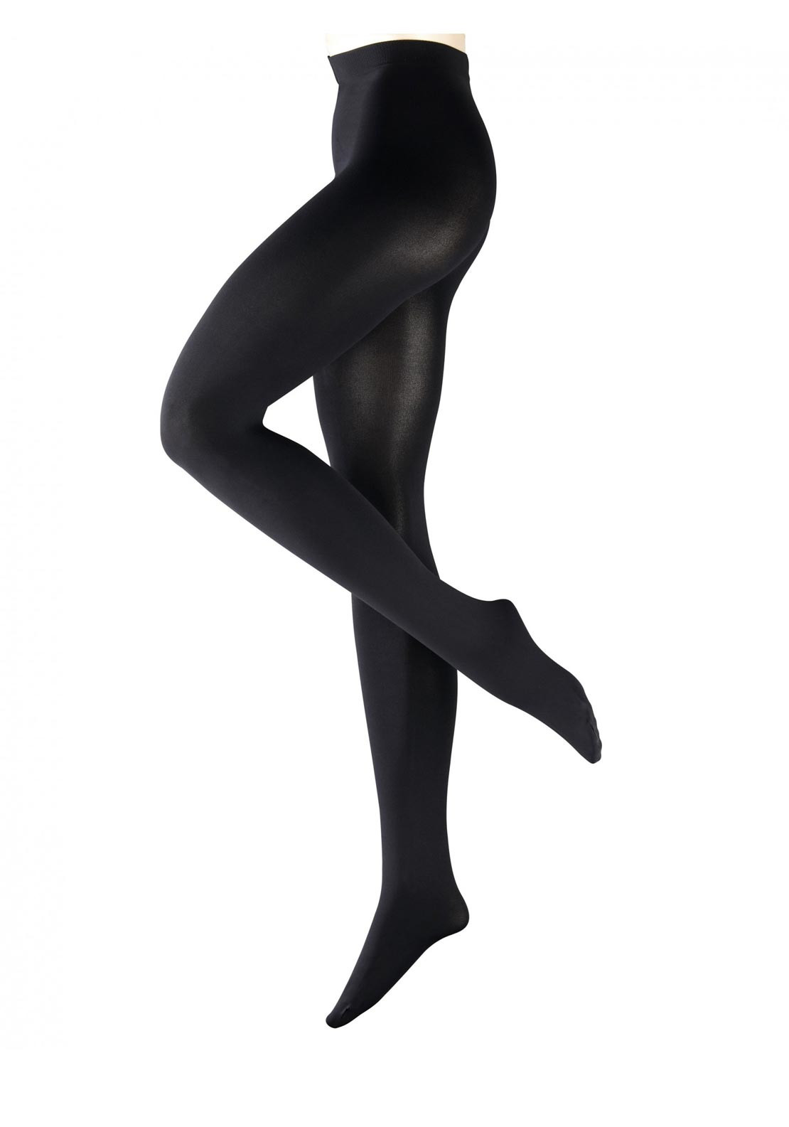 Falke Pure Matt 100 Denier Tights, Black