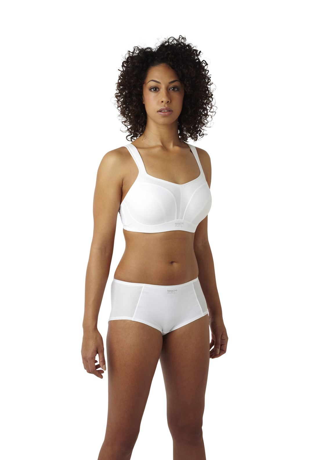 Panache Moulded Sports Bra, White
