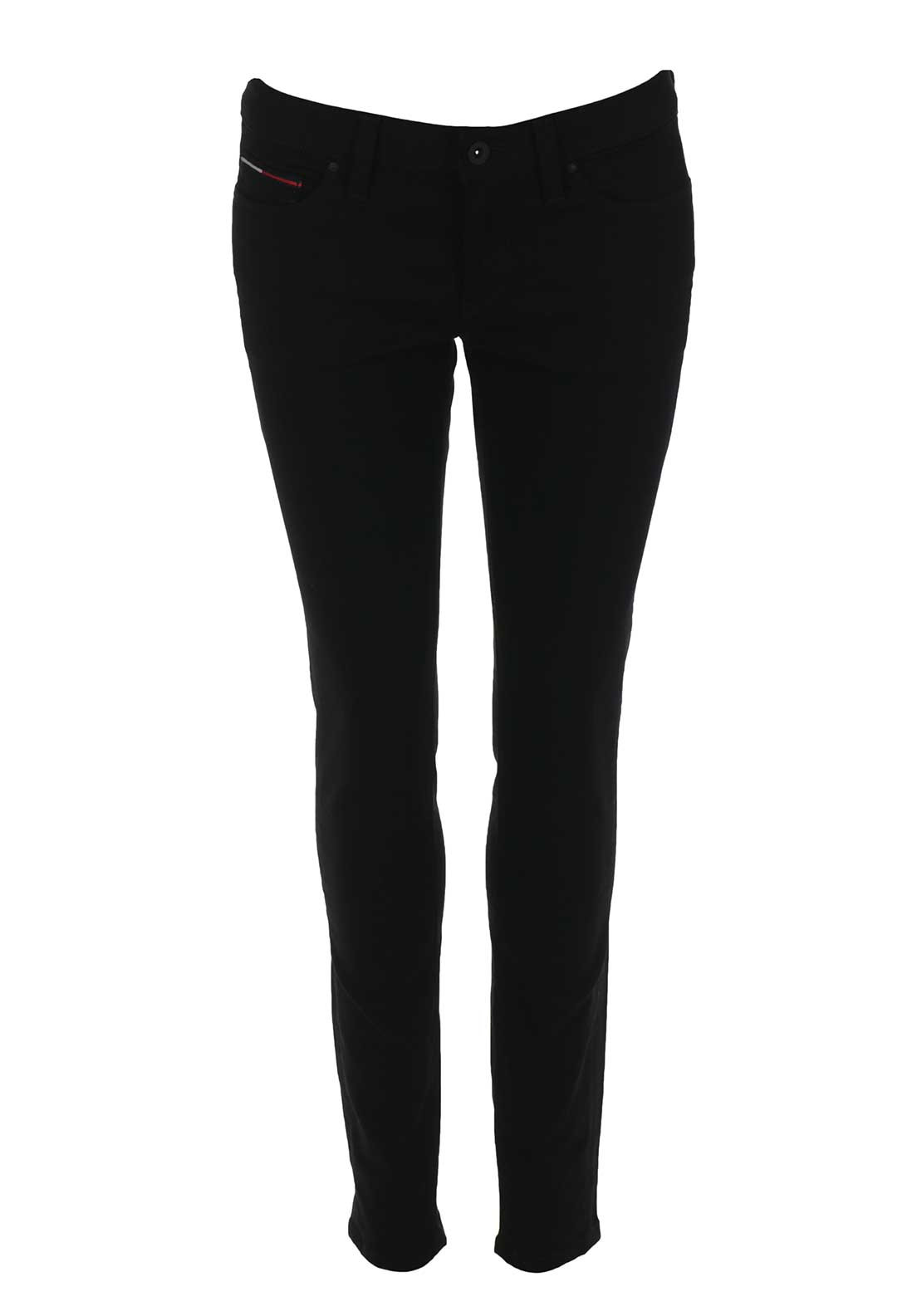 Tommy Hilfiger Womens Nora midrise Skinny Jeans, Black
