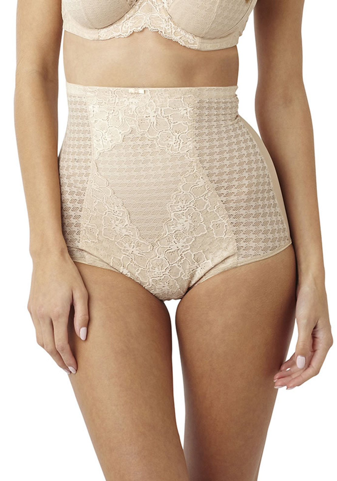 Panache Envy High Waist Shaping Briefs, Nude