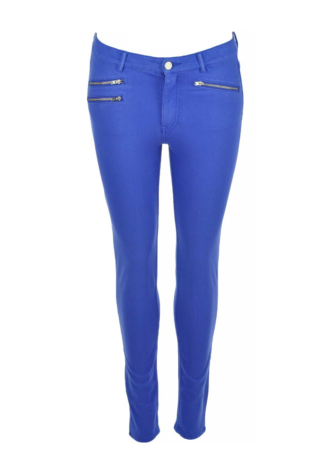 French Connection Super Skinny Jeans, Empire Blue