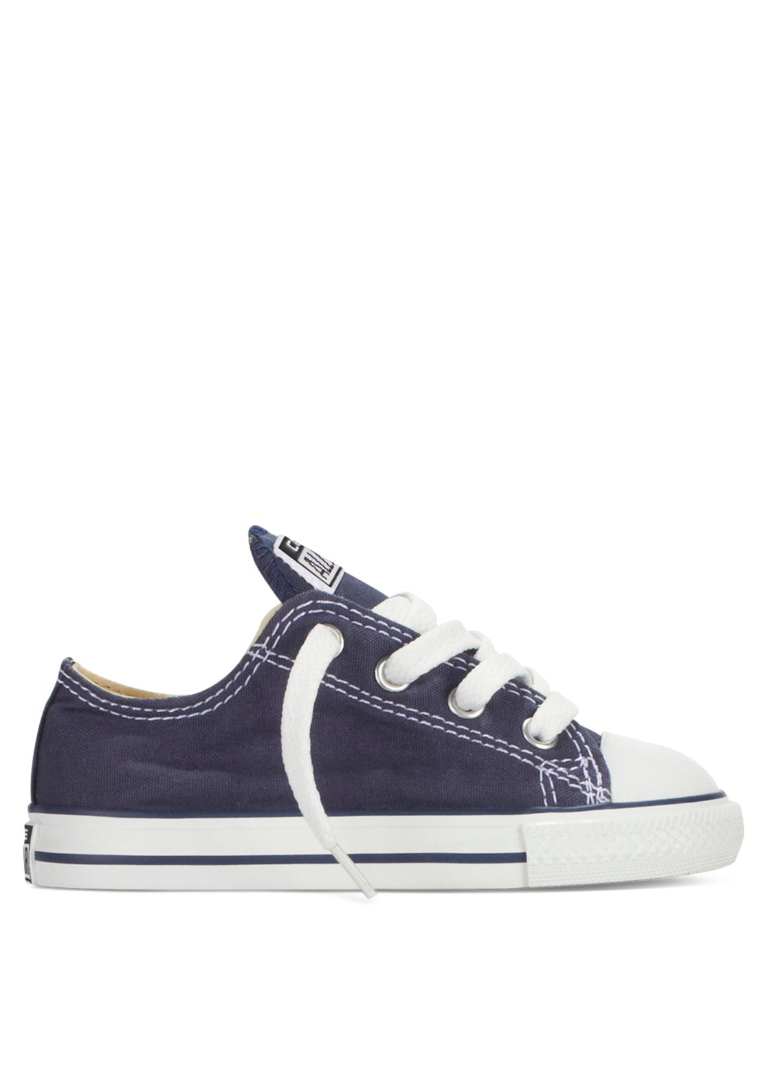 Converse Toddler All-Star Ox Low Trainers, Navy