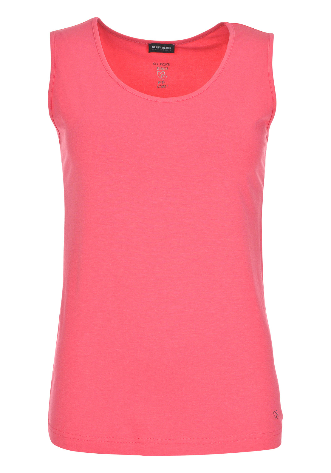 Gerry Weber Sleeveless Vest Top, Coral