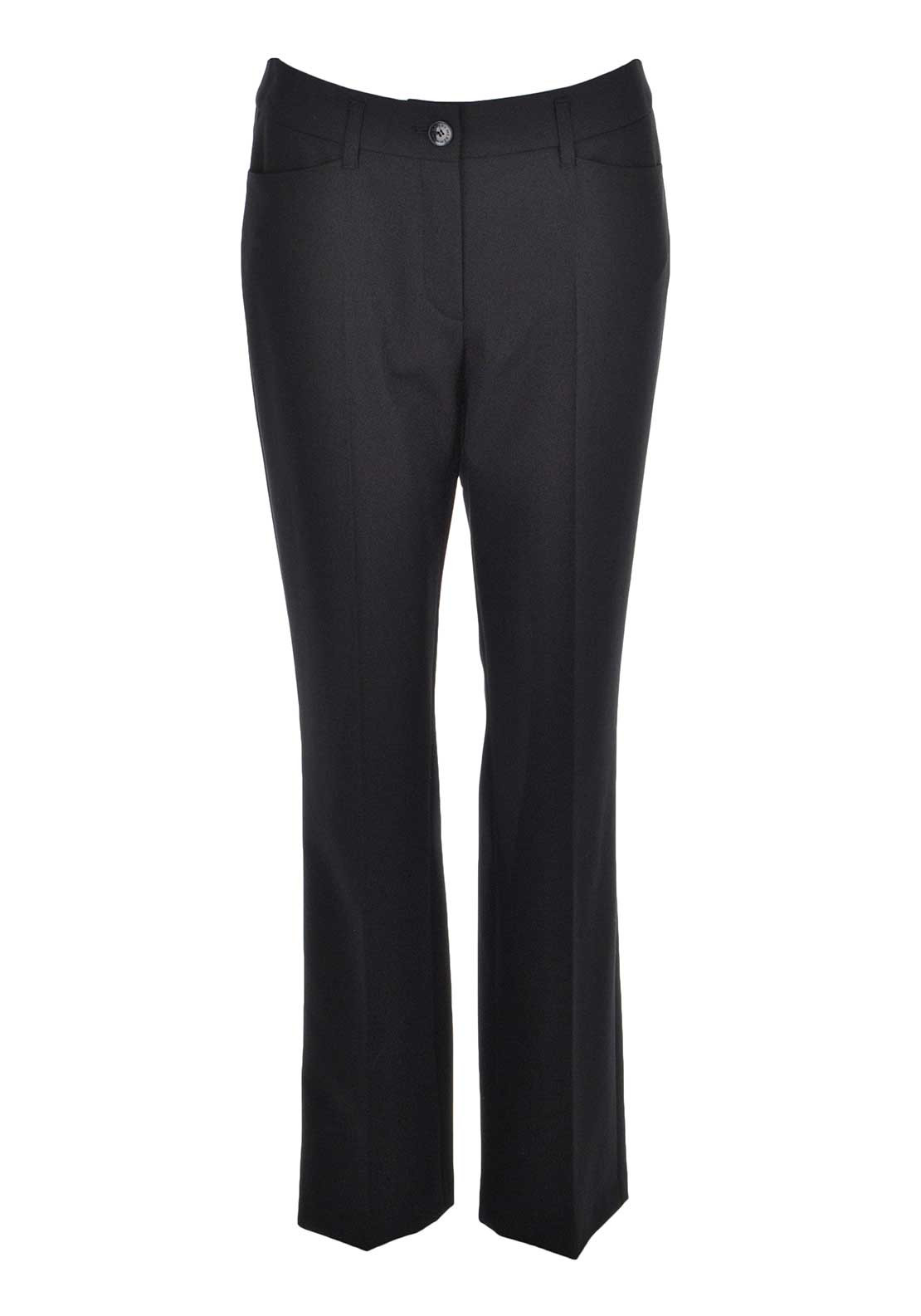 Gerry Weber Pamela Regular Leg Trouser, Black