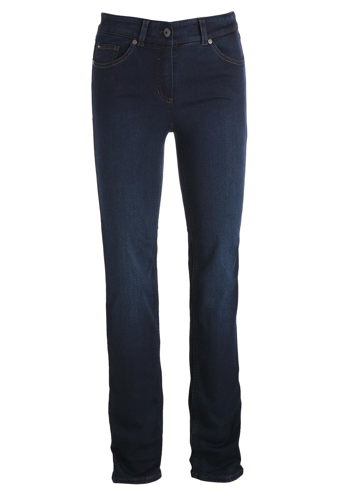 Gerry Weber Roxy Slim Jeans, Dark Blue Denim