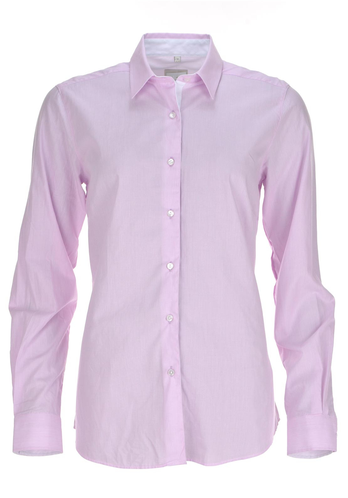 Milano Classic Long Sleeve Blouse, Lilac