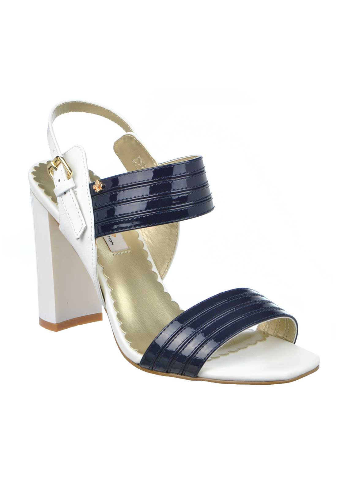 Amy Huberman Bourbon Amour Leather Sandal