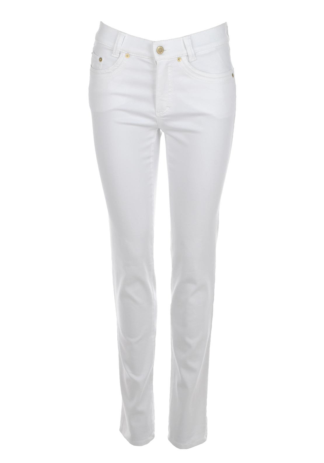 Anna Montana Angelika Super Stretch Slim Leg Jeans, White