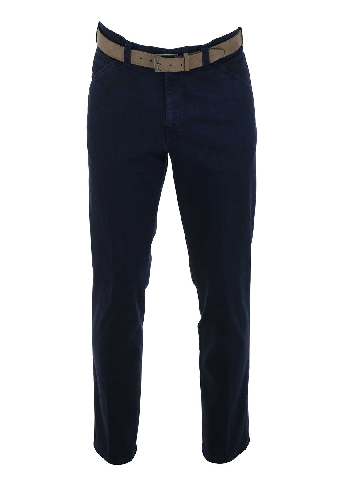 Meyer Mens Chicago Super Stretch Denim Trouser, Blue